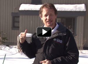 Video about our home energy audit in Indiana