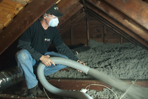 Cellulose Insulation Installation In Greater South Bend